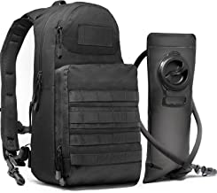 Diaz Sport Tactical Molle Hydration Pack Backpack with 3L Water Bladder. Lightweight & Durable EDC Military Daypack Keeps Water Cold for Up to 4 Hours | Perfect for Hiking Running Cycling Camping