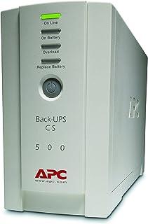 APC Back-UPS Standby (Offline) 500VA 4AC outlet(s) Tower Beige uninterruptible power supply (UPS)
