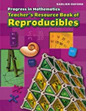 Progress in Mathematics Teacher's Resource Book of Reproducibles