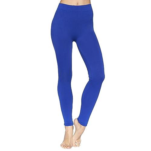 169e6fb27a Reypo Women's Seamless Full Length Leggings