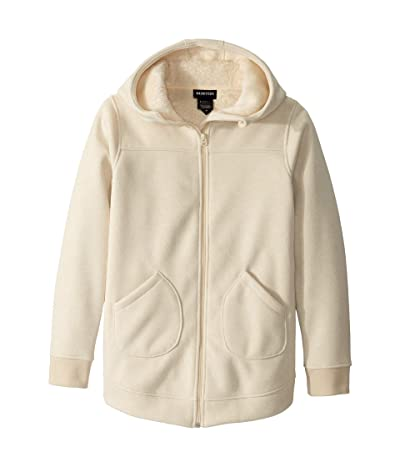 Burton Kids Minxy Full Zip Jacket (Little Kids/Big Kids) (Creme Brulee Heather) Girl