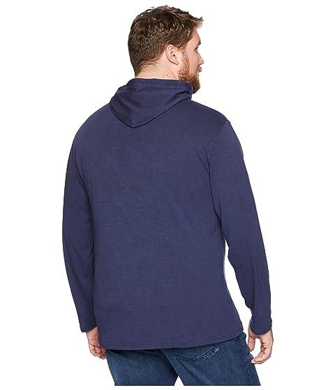 cuello Slub de con Big Sudadera amp; Jersey oscuro cobalto American Polo amp; con alto Slub Ralph Lauren capucha Oq8owSv