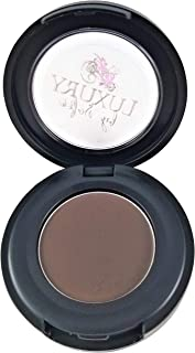 Luxury By Sofia Premium Eyebrow Gel Pomade | Natural & Organic Ingredients, Vegan, Gluten-Free | Enhance, Fill, Set Your Eye Brows | 3 Brow Shades For Subtle, Sculpted, Or Dramatic Look (Dark)