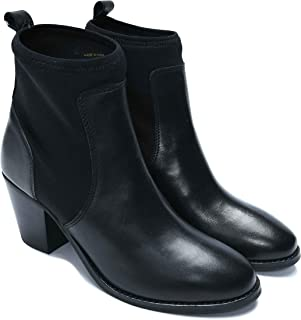 Amala Collections AU Women's Chelsea Leather Boots with Sock Gussets, Boots for Womens, Women's Ankle Shoes and Boots
