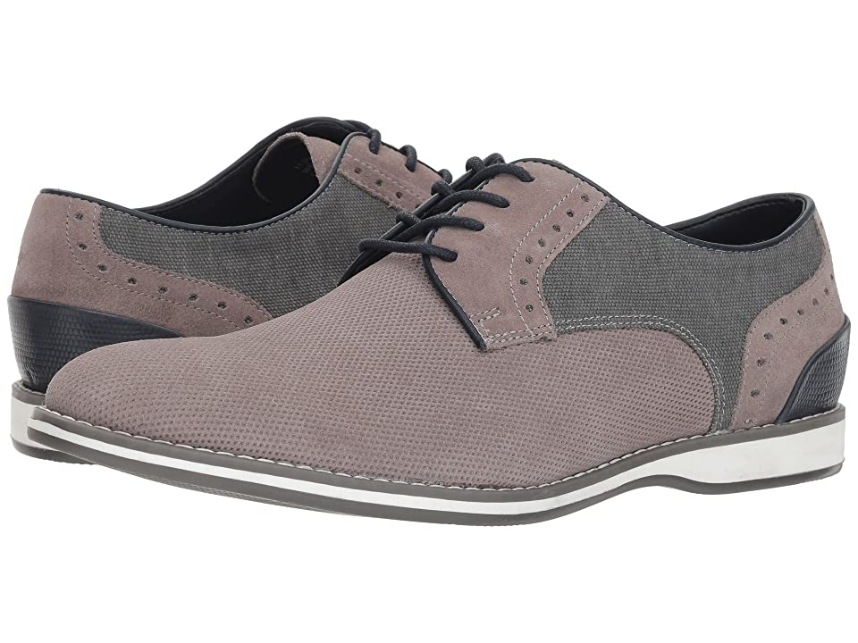 Kenneth Cole Reaction Weiser Lace-Up B (Grey Suede) Men