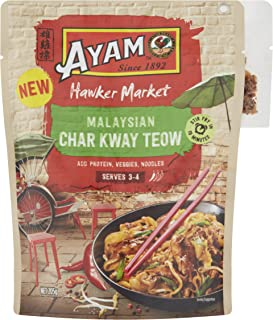 AYAM HM Char Kway Teow Stir Fry Sauce | Sweet, Salty & Spicy | Ready Meal Sauce | Dairy, Gluten & Egg Free | Great Taste |...