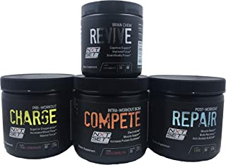 Pre-Workout + Intra-Workout + Post-Workout + Cognitive Enhancer Supplement Mix