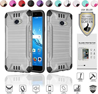 for Huawei Ascend XT2 Case with Full Glass Screen Protector (2nd Version Only), Elate 4G..