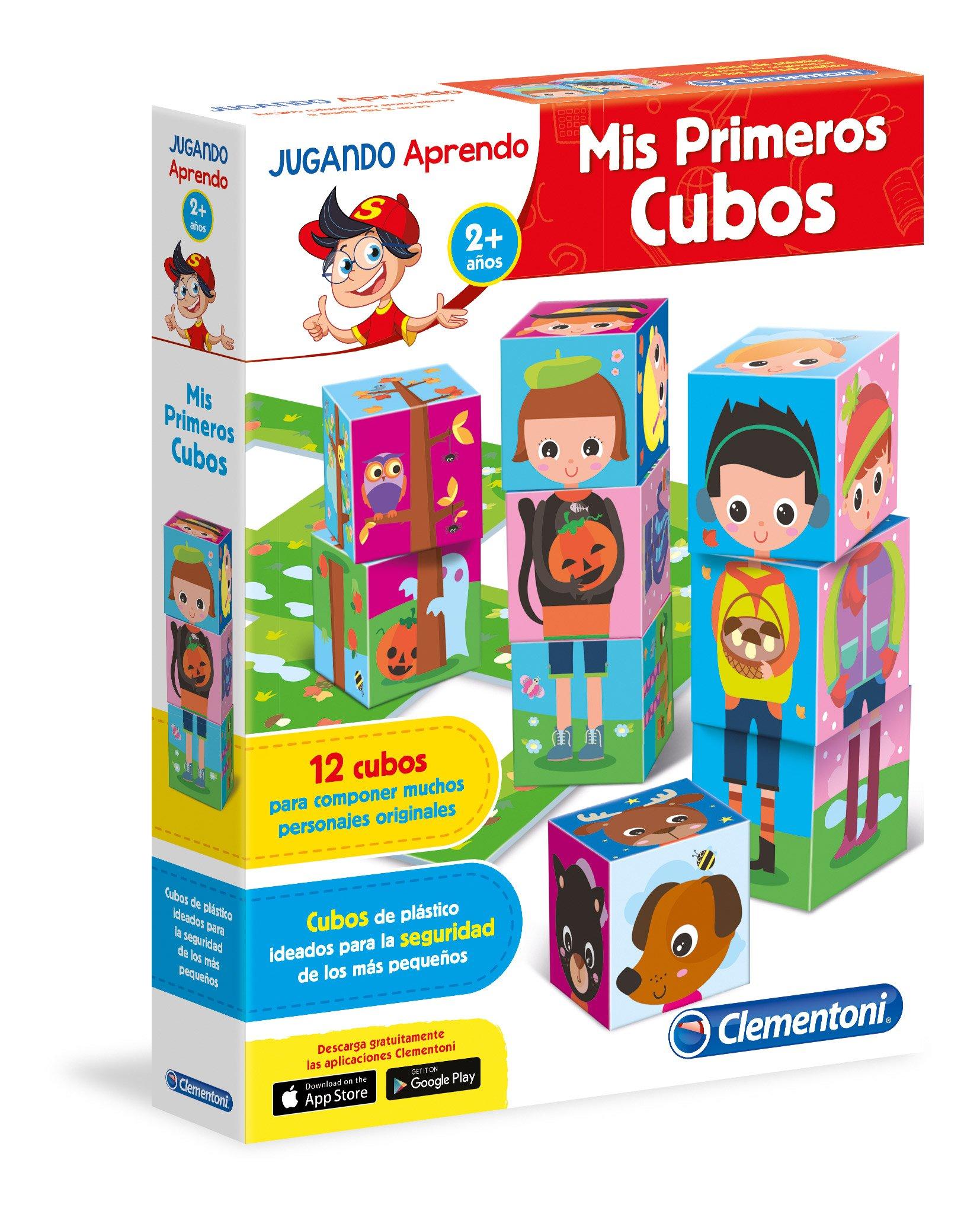 Clementoni - Baby aprende, mis Primeros Cubos (55115.6): Amazon.es ...