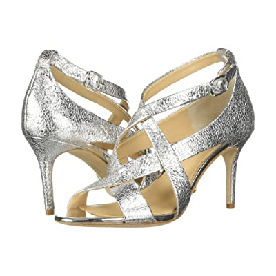 Imagine Vince Camuto Paill 2 (Platinum Cracked Metallic) High Heels