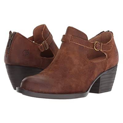 Born Mendocino (Rust (Tobacco) Distressed Leather) Women