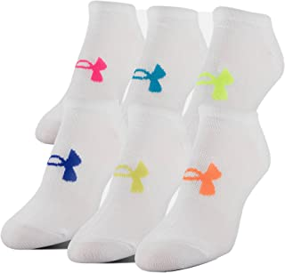 Under Armour Women's Essential No-Show Liner Socks (6 Pairs)