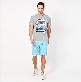 Camisa Casual T-shirt Kombi Mescla Claro
