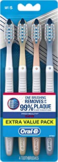 Oral-B Pro-Health Toothbrush, All-in-One, 4 Count, Color may vary