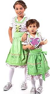 German Dirndl Dress Kids/German Dress/Oktoberfest Dress/Oktoberfest Costume