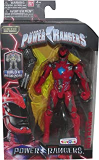 Power Rangers Limited Edition Mighty Morphin Legacy Movie Figures Toys R Us Exclusive Red Ranger
