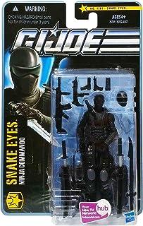G.I. Joe The Pursuit of Cobra (POC) #1101: Snake Eyes (Ninja Commando) 3.75 Inch Action Figure