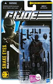 G.I. Joe The Pursuit of Cobra (POC): Snake Eyes (Ninja Commando) 3.75 Inch Action Figure