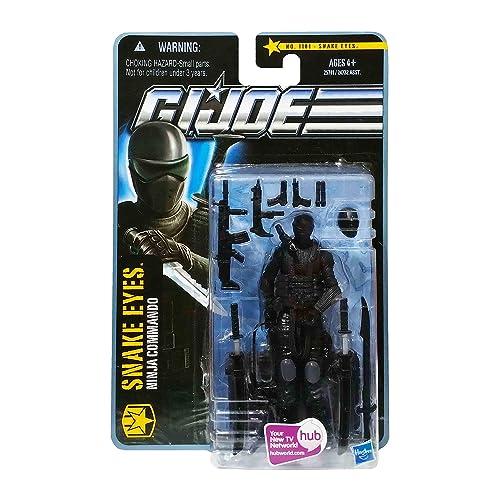 2011 Snake Eyes Mint on Card GI Joe Renegades