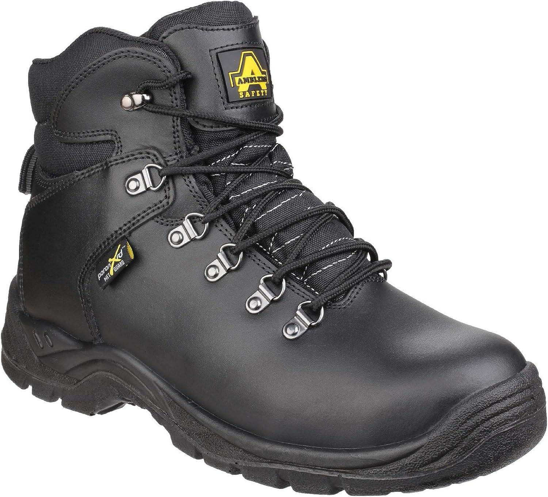 Amblers Safety herr AS335 Pguldn XRD Intern Metataral Safety Boot Boot Boot svart Storlek UK 5 EU 38  ingen skatt