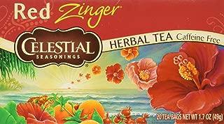 Celestial Seasonings Tea Caffeine Free Herbal Tea, Red Zinger 20 ea (Packs of 3)