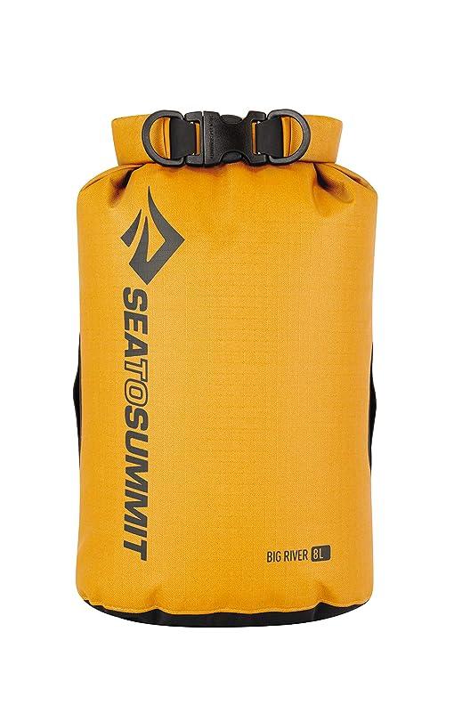 フィード赤外線パールSEA TO SUMMIT(SEA TO SUMMIT) ビッグリバー ドライバッグ 8L BIG RIVER DRY BAGS ST83063002 防水バッグ (イエロー/FF/Men's、Lady's)