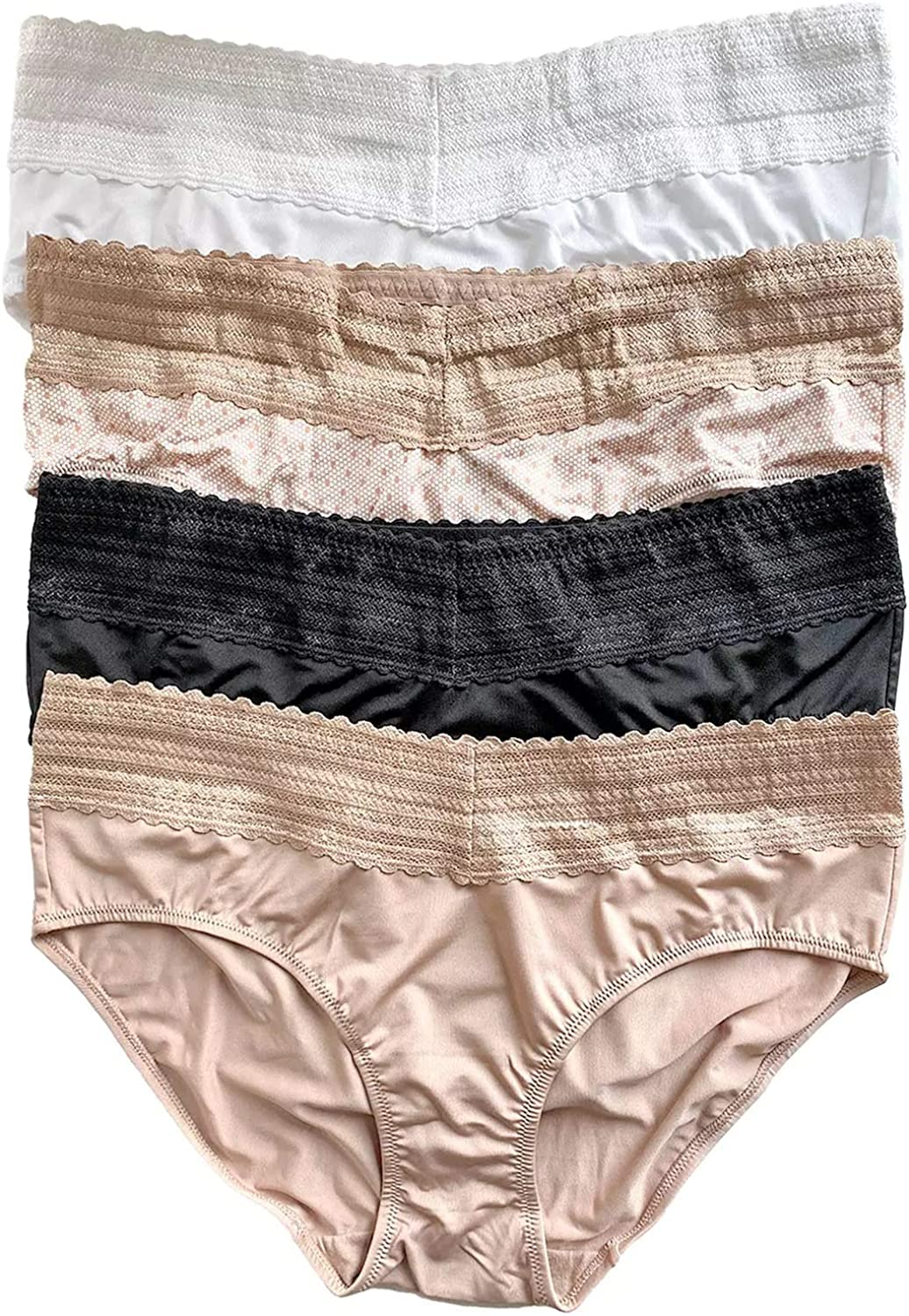 Sales results No. 1 Warner's Women's No Pinches free Problems Hipster 4-Pack Panty