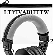Replacement Headband Cover Compatible ATH M50X M50 M40X M40 M30X M20X Headphones (Silver)