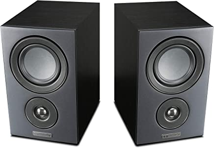 Mission LX-1 Bookshelf Speakers (Black)