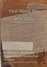 61 DIVISION 184 Infantry Brigade, Brigade Machine Gun Company : 1 January 1916 - 28 February 1918 (First World War, War Diary, WO95/3067/2)