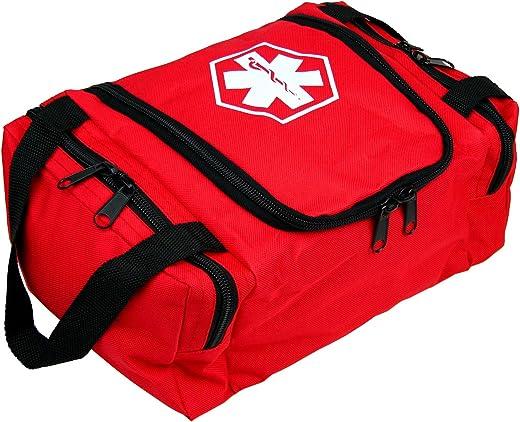 "Dixie EMS Dixigear Empty First Responder II Bag 10.5"" x 5"" x 8"" - Red"