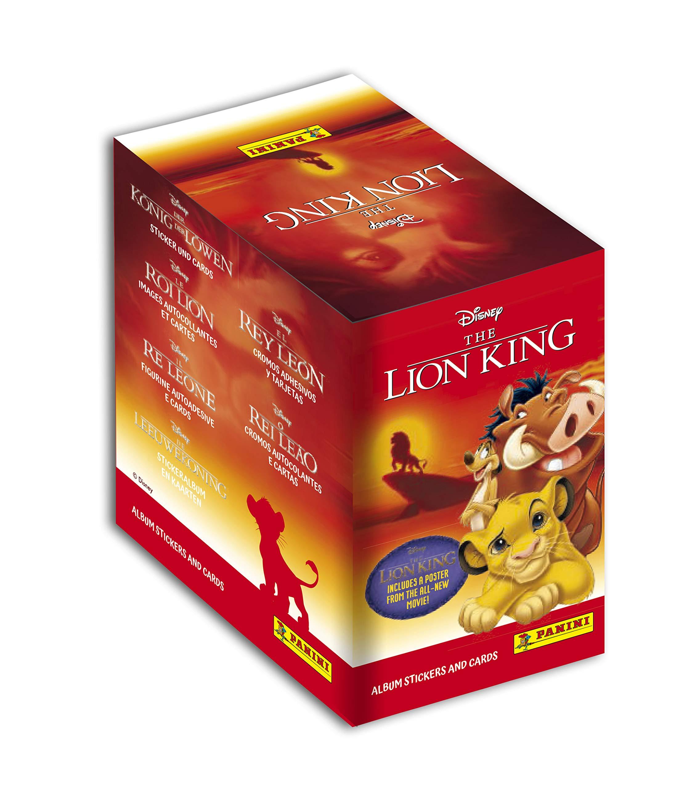 Panini France SA-LE Rei Leon (classic) - Caja de 50 bolsillos, 2521-004: Amazon.es: Juguetes y juegos