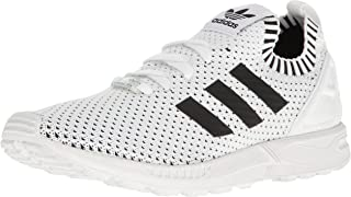 adidas zx flux shoes black and white
