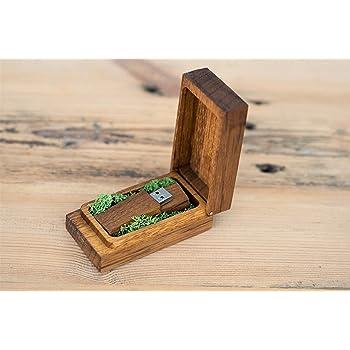 Caja de madera para memoria USB, caja de regalo para personalizar ...