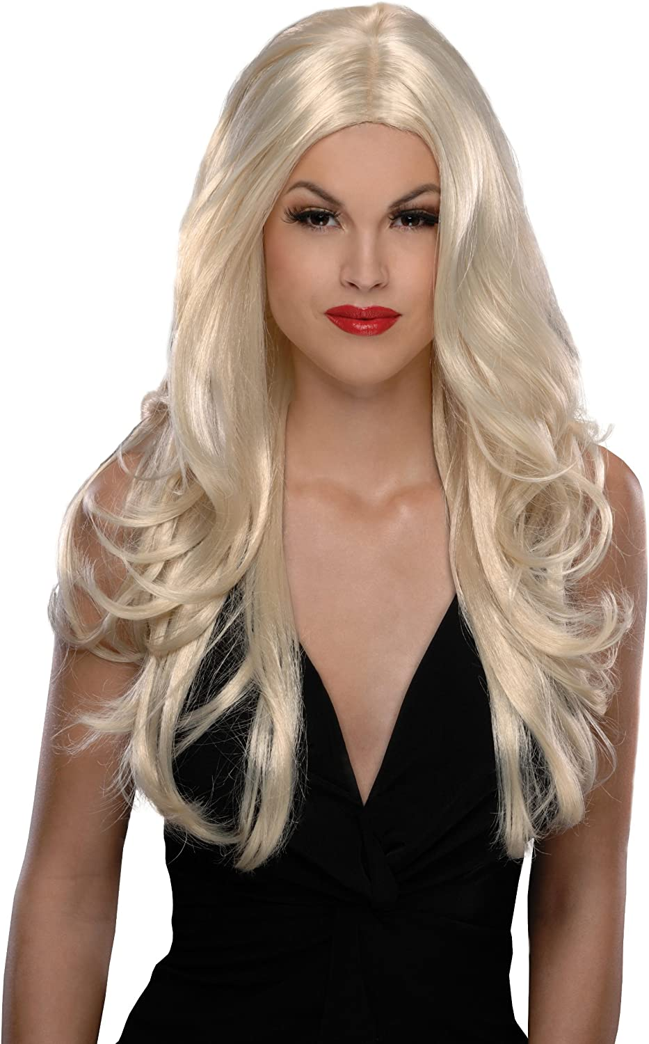 Secret Wishes Milwaukee Mall Costume Victoria Tampa Mall One Wig Blonde Size