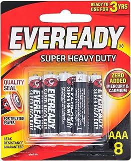 Eveready Super Heavy Duty 1212BP8AAA, 8ct
