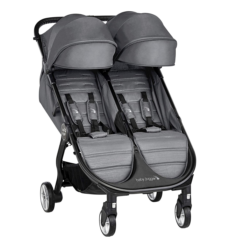 Baby Jogger City Tour 2 Double Stroller, Slate