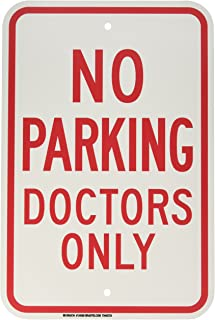 Best doctor parking only signs Reviews
