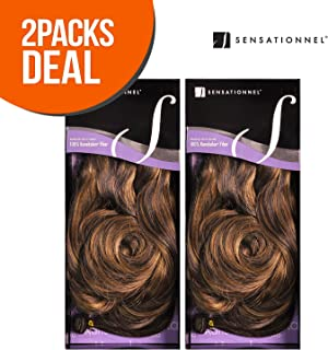 2-PACK DEAL ! Synthetic Hair Weave Sensationnel Kanubia Drop Wave 10 (350)
