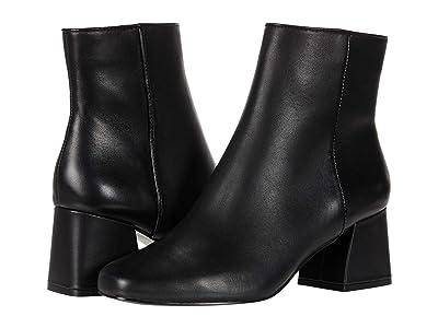 Steve Madden Davist Dress Bootie (Black Leather) Women
