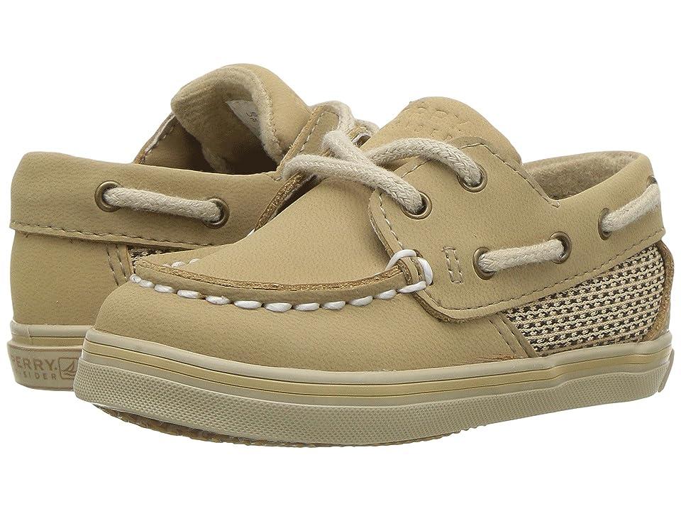 Sperry Kids Intrepid Crib (Infant) (Linen/Oat Nubuck) Kids Shoes