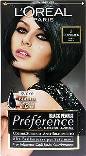 Preference Shampoo Colorante Black Pearls Deep Black