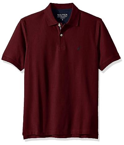 Nautica Classic Short Sleeve Solid Polo Shirt