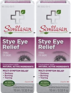 Similasan Stye Eye Relief, 0.68 Oz Twin Pack