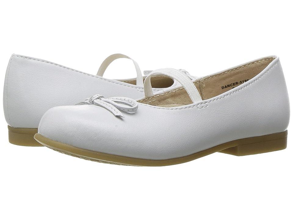 FootMates Dancer (Toddler/Little Kid) (White) Girl