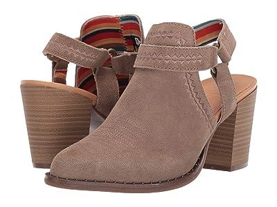 Dingo Concho (Taupe) Cowboy Boots