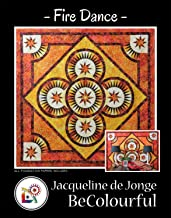 Fire Dance Foundation Pieced Quilt Pattern by Jacqueline de Jonge from Be Colorful 66