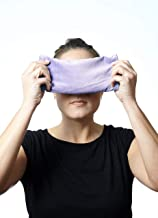 DreamTime Inner Peace Eye Pillow, Lavender Velvet, Soothing Aromatherapy Stress and Headache Relief for Wellness and Relaxation, Pack of 1