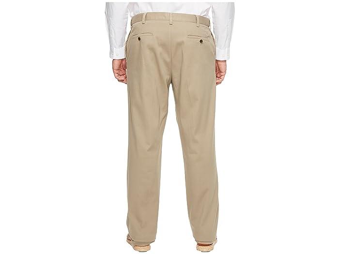 Muelles Grandes Y Altos Pantalones De Color Caqui Fácil- Ropa Hombres