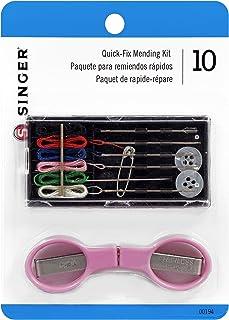 SINGER 00194 Quick Fix Travel Mending Kit with Threaded Needles